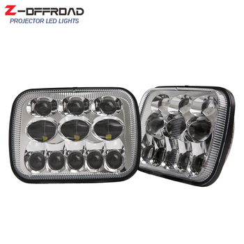 DOT EMARK 5x7Inch LED Truck Headlight for Chevrolet Express 3500, Chevrolet Express 1500, Chevrolet Astro 6x7 LED Headlamps
