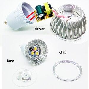 Image 5 - GUXEN GU10 Led מנורת הנורה ניתן לעמעום/ללא ניתן לעמעום 3W 4W 5W 6W 8W 9W 10W AC110V 240V Led זרקור לסלון