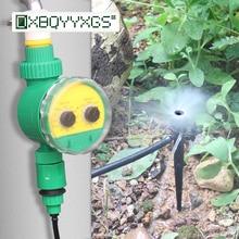 Садовое капельное орошение серии 4 / 7мм Kit Ручка таймера автоматическая установка Микрораспылитель