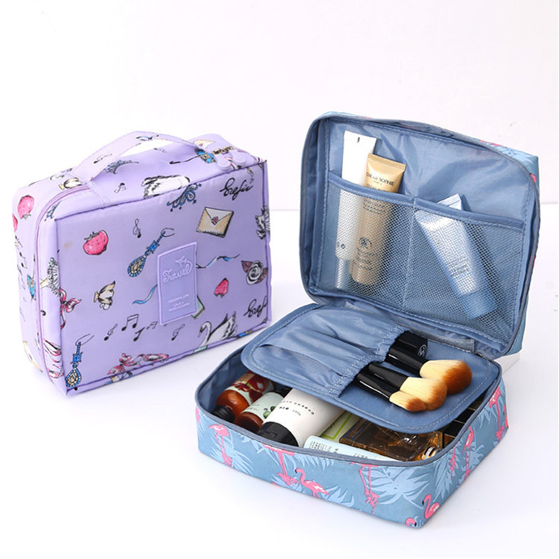 Hot Sale Cosmetic Bags Multifunction Organizer Waterproof Portable Storage Makeup Bags Travel Necessity Beauty Case Wash Pouch