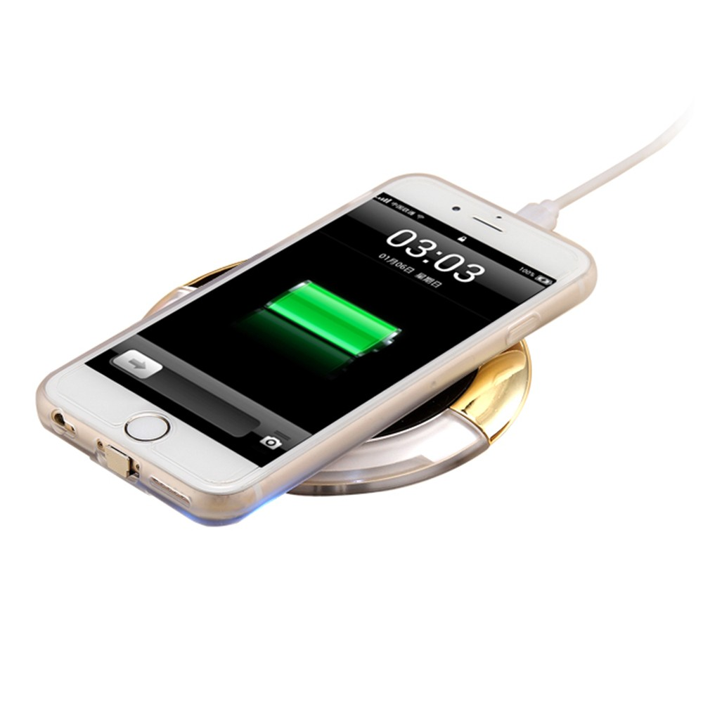 WL027 Wireless Charging Pad Qi Wireless Charger (12)