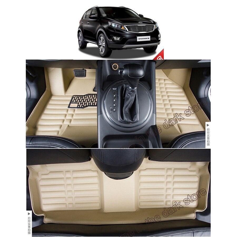 Rubber floor mats 2013 kia sportage - Free Shipping Leather Car Floor Mat Carpet Rug For Kia Sportage Sportage R 3rd Generation 2010 2011 2012 2013 2014 2015 2016