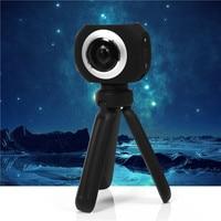 Amkov 360 Degrees Panoramic VR 360 Camera Dual Lens Panoramic Camera 4k HD Wifi 1 Screen