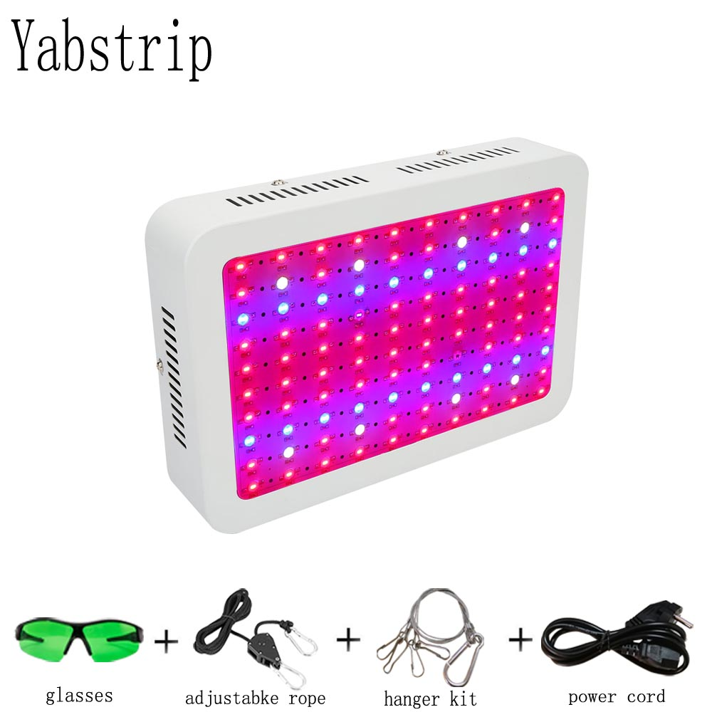 Yabstrip LED grow light 1000W Full Spectrum for flowers Lettuce seeding Greenhouse grow tent plants grow led phyto lamp in LED Grow Lights from Lights Lighting