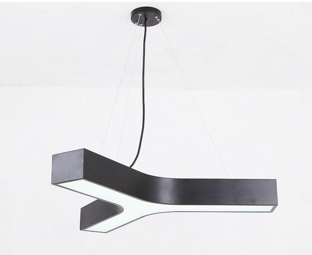 Moderne simple led suspension lampes salon bureau led acrylique