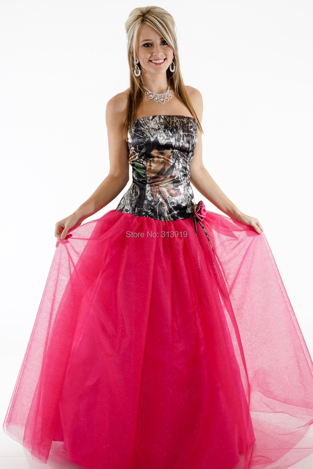 Popular Camouflage Prom Dresses-Buy Cheap Camouflage Prom Dresses ...