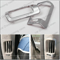 Car Styling Rear Air Conditioning Vent Panel Decorative Cover Trim Car Accessories Air Outlet Strip For