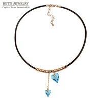 Valentine S Day Jewelry Rhinestone Crystal Necklace Crystal Pendant Necklace Crystal Jewelry With Crystals From SWAROVSKI