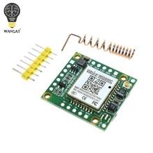 Wavgat menor gprs gsm módulo wis800c micro cartão sim placa de núcleo quad-band ttl porta serial compatível sim900a sim800l sim800c