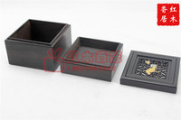Rosewood incense incense Buddha tower disc ebony wood products send fire paper box incense censer aromatherapy incense
