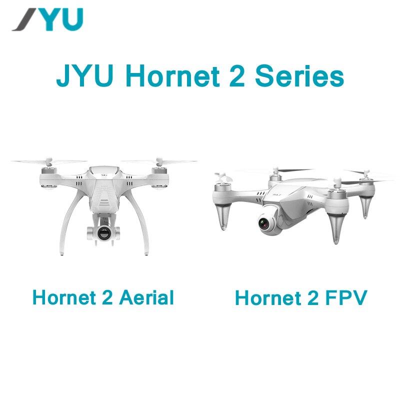 JYU Hornet 2 Racing 5.8G FPV / 4K / 1080P HD Camera / Standard Version 3-Axis Gimbal RC Quadcopter Left Hand RTF VS Hubsan H109S yuneec typhoon q500 5 8g fpv with 4k hd camera cgo3 3 axis gimbal rc quadcopter rtf