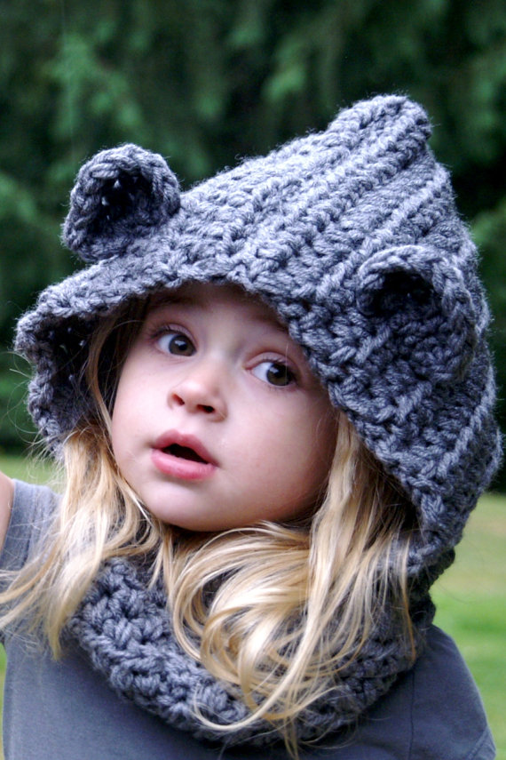 Aliexpress Buy Girl Hooded Cowl Hooded Scarf Crochet Cowl