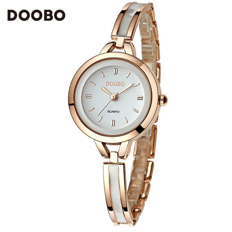 Watch Women DOOBO brand luxury Fashion Casual quartz Unique Stylish skeleton watches sport Lady Girl wristwatches