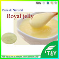 Precio al por mayor de polvo liofilizado jalea real orgánica 400 g/lote envío gratis