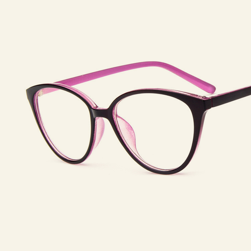 15a6effe38e Excellent Simple Cateye Optical Glasses Frames Classic Trendy Eyewear Frame  Women Men Cat Eye Myopia Frames Casual Spectacles