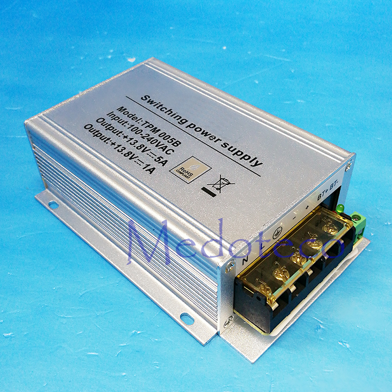 Wholesale ZK TPM005B 110-240V Input 12V5A Output Power Supply For Inbio160 Inbio260 Inbio460 Access Control Switch Power Supply