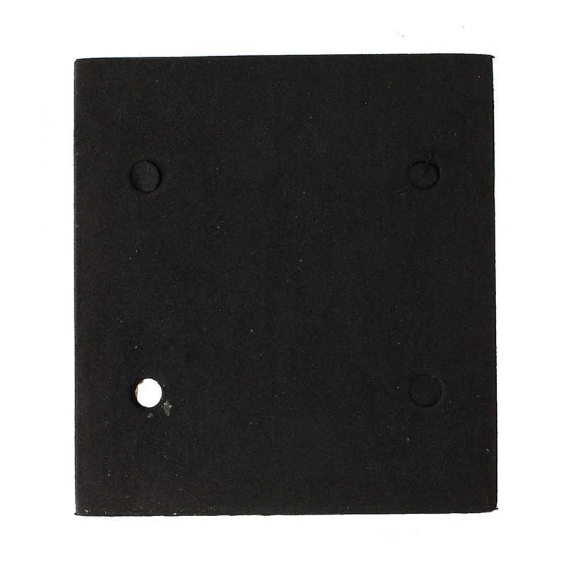Eleg-makita 4510 reemplazo de espuma negra lijadora almohadilla trasera máquina de lijado Mat
