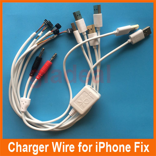 Phone Repair Power Charger Line Wire Cable For iPhone 4 4s 5 5s 6 6 Plus