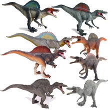 8 Styles Jurassic World Park Dinosaur Plastic Toy Model Colorful Spinosaurus Collection Figure Gift For Children Boy Toys(China)