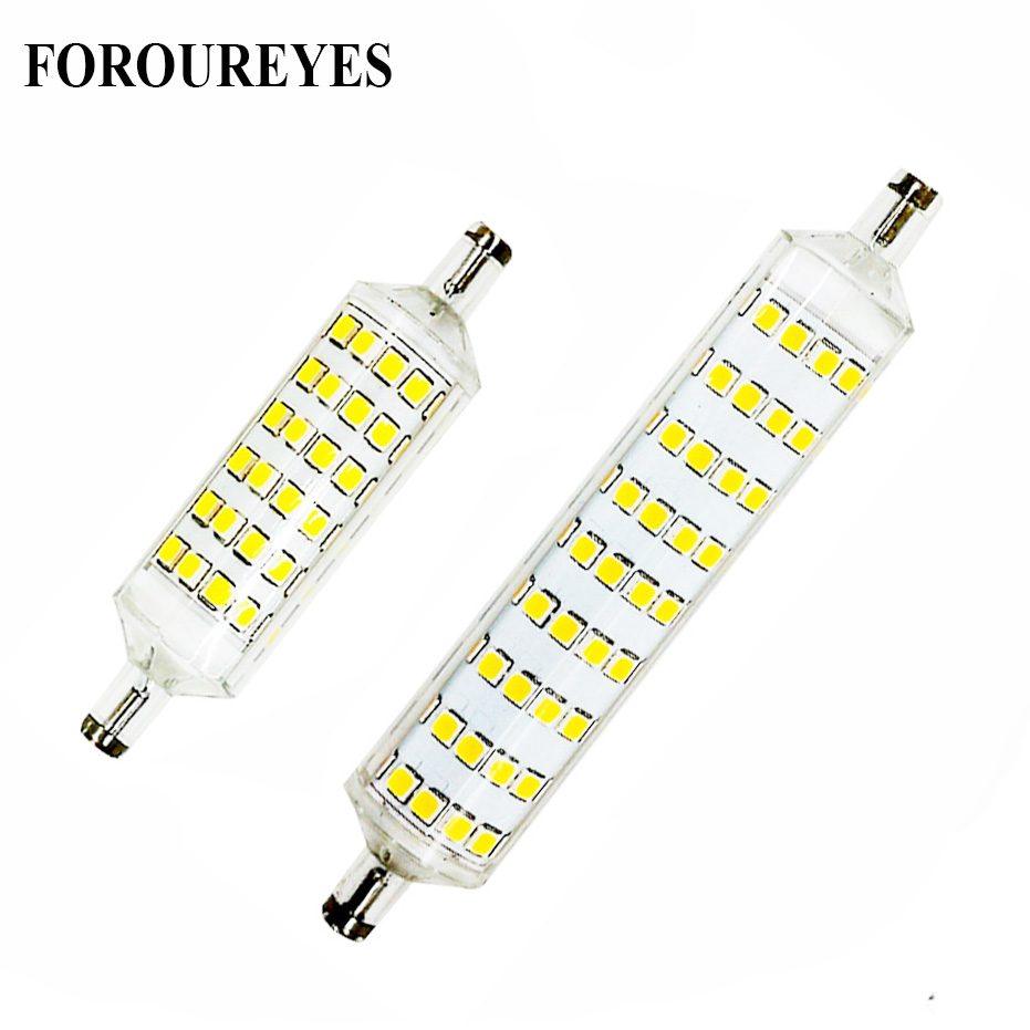 Super Bright R7S led Lamp 220V 10W 15W 118mm 78mm LED Sportlight 360 degree lampadas SMD2835 bulb replace 60W 80W halogen light r7s led lamp 78mm 118mm 5w 10w led r7s light corn bulb smd2835 led flood light 85 265v replace halogen floodlight page 5