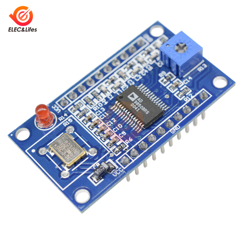US $13 39 34% OFF|For Arduino AD9850 DDS Signal Generator Module 0 40MHz 2  Sine Wave and 2 Square Low pass Filter Crystal Oscillator DIY Component-in