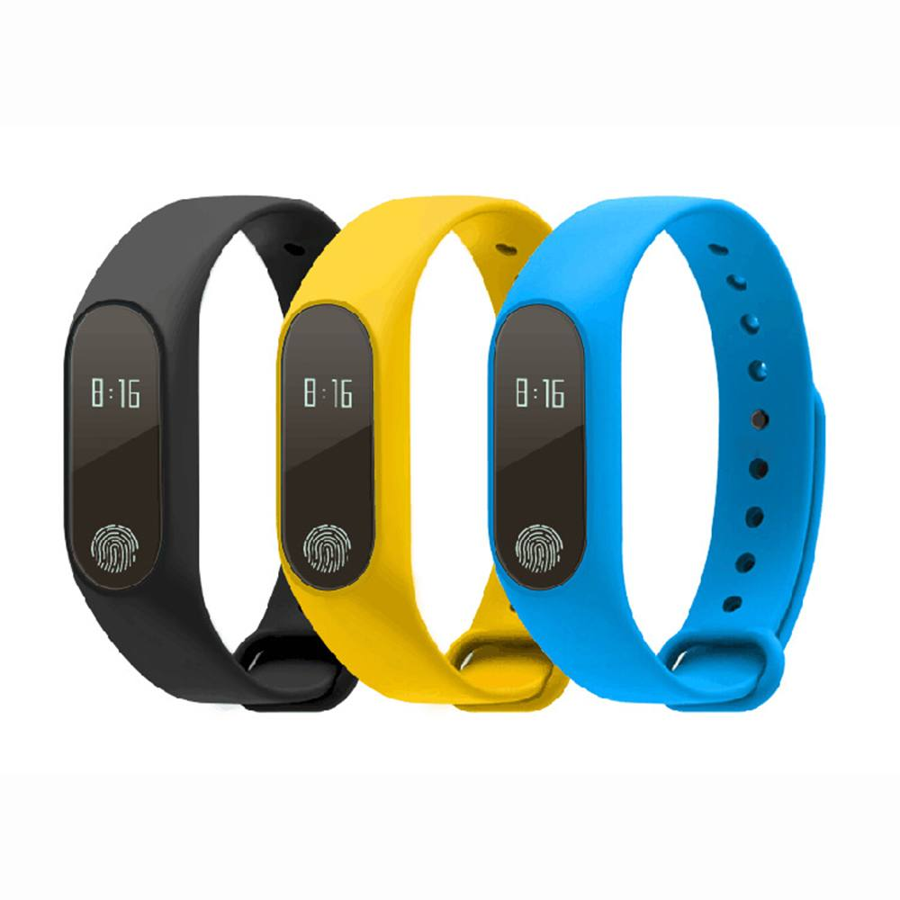 1pc Smart Step Pedometer Bracelet Wristband Watch Released Fitness Tracker Calorie Counter Message Alarm Monitor-Improve Tracker