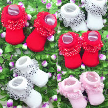 Милые носки-пачки для маленьких девочек; кружевные удобные красивые мягкие высококачественные носки с оборками для новорожденных; хлопковые короткие носки
