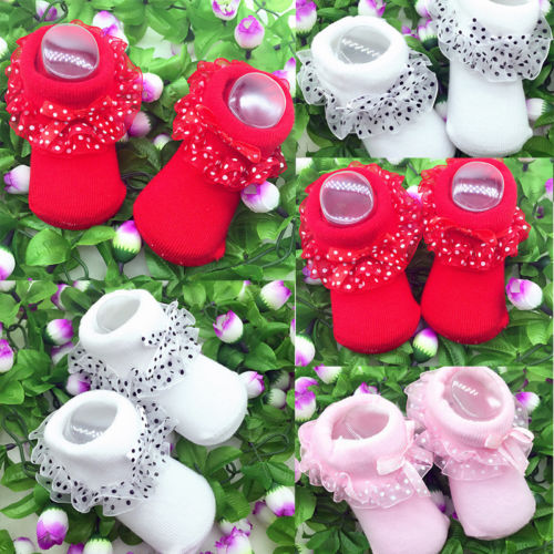 Cute Baby Girls Tutu Socks Lace Comfortable Beatiful Soft High Quality Newborn Infant Frilly Sock Cotton Short Socks
