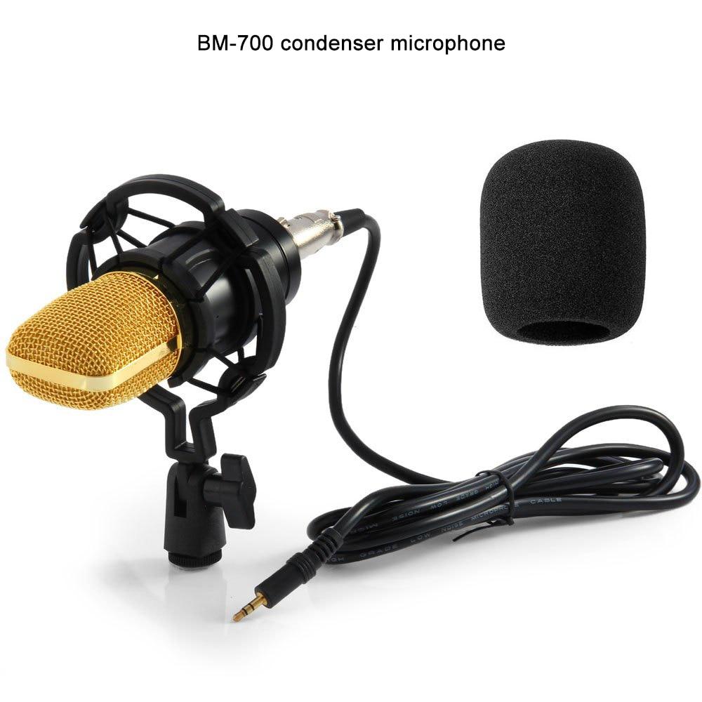 Gevo Bm 700 Kondensor Mikrofon Studio Kabel Komputer Mic Bm700 Nb 35 Cina Pemegang Untuk Pop Filter Kareoke Pc Laptop Di Microphones Dari