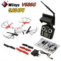 In Stock WLtoys V686 V686G FPV Version 4CH Drone Quadcopter With HD Camera RTF 2