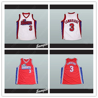 Calvin 3 LA Knights Basketball Jersey Like Mike Lil Bow Wow Jerseys Red White With All