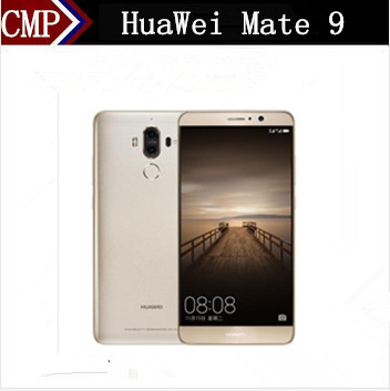"Original HuaWei Mate 9 4G LTE Mobile Phone Kirin 960 Android 7.0 5.9"" FHD 1920X1080 6GB RAM 128GB ROM 20.0MP Fingerprint NFC"