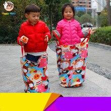 Kinder Outdoor Schule Spiele Aktivität Kindergarten Ausrüstung Weiche Lernspielzeug Sport Dick Springen Tasche Sack für Kinder Baby
