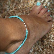 Acrylic Beaded Anklet Can be adjusted freely Stretch Bridal Bridesmaid Gift   JK105