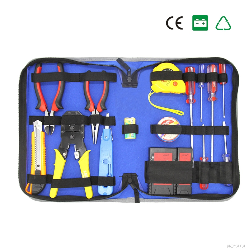 Сети Комбинации кабель Провода тестер обжима Cutter Удар Подпушка Инструменты комплект RJ11 RJ45 компьютерной сети инструмент Ремкомплект ленты
