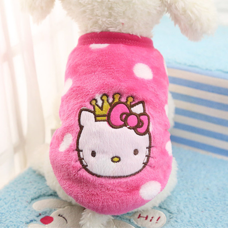 2019 New Warm Cat Clothes Autumn Winter Pet Clothing For Cats Rabbit Soft Fleece Kitten Kitty Outfits Cat Coats Jacket Costumes #4