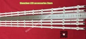 """Image 5 - 10 pièces/lot, original 42 """"LED bande Pour Vizio E420 A0 LG 42LN5300 LG 42LN5400 LC420DUE (SF) (R7) R1 + L1 = 6 pièces R2 + L2 = 4 pièces"""