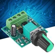 DC 1,8-12 V 2A eléctricos baja tensión controlador de velocidad del Motor regulador de velocidad del Motor PWM herramienta c. V. Motor de velocidad