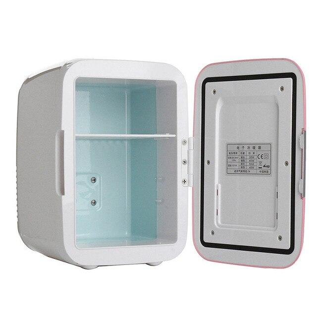 Автомобильный электрический холодильник 4L автомобильный домашний двойной использование мини-холодильная машина USB морозильная камера деш...