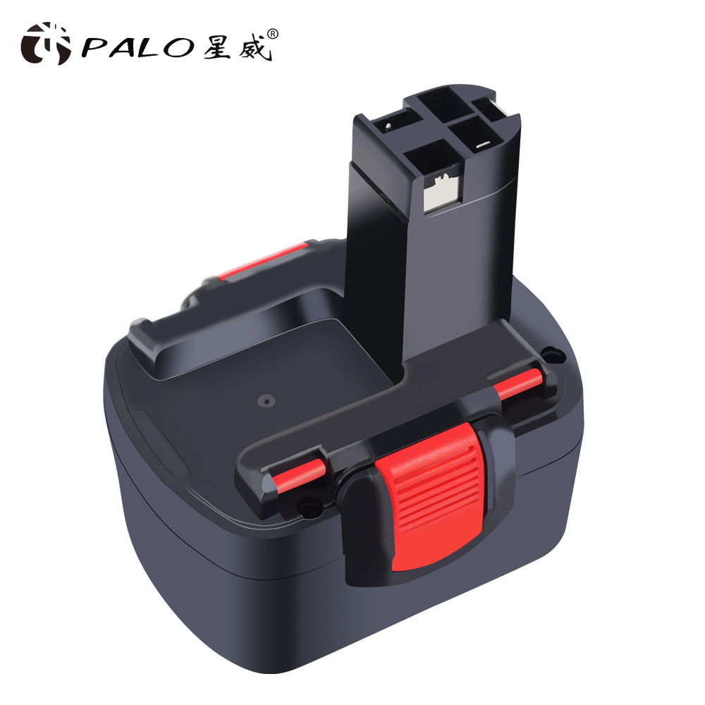For Bosch PALO BAT038 14.4V 2000mAh Rechargeable Battery Pack Power Tool Battery Cordless Drill Replacement for 3660CK Ni-CD стоимость