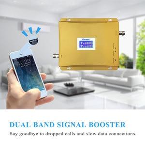 Image 3 - Lintratek شاشة الكريستال السائل 3G W CDMA 2100 MHz + GSM 900 Mhz المزدوج الفرقة الهاتف المحمول إشارة الداعم GSM 2G 3G UMTS 2100 مكرر إشارة