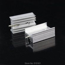цены на 200 Pieces/lot 25x15x10mm Cooler TO-220 TO220 Extrusion Aluminum Heat Sink Heatsink в интернет-магазинах