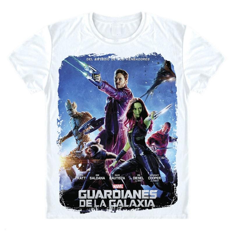 5f4282b014c1 Rocket Raccoon Tee Shirt Guardians Of The Galaxy T Shirts 3D Movie Casual  Tshirt Custom Men Boy Women Cute Avengers Funky Top -in T-Shirts from Men s  ...
