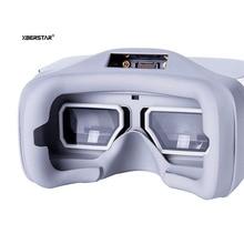 1 Par de substituição DJI vôo óculos Moldura De Vidro Filtro UV Scratch-proof Capa Protetora para DJI Óculos de Exibição de Tela manga