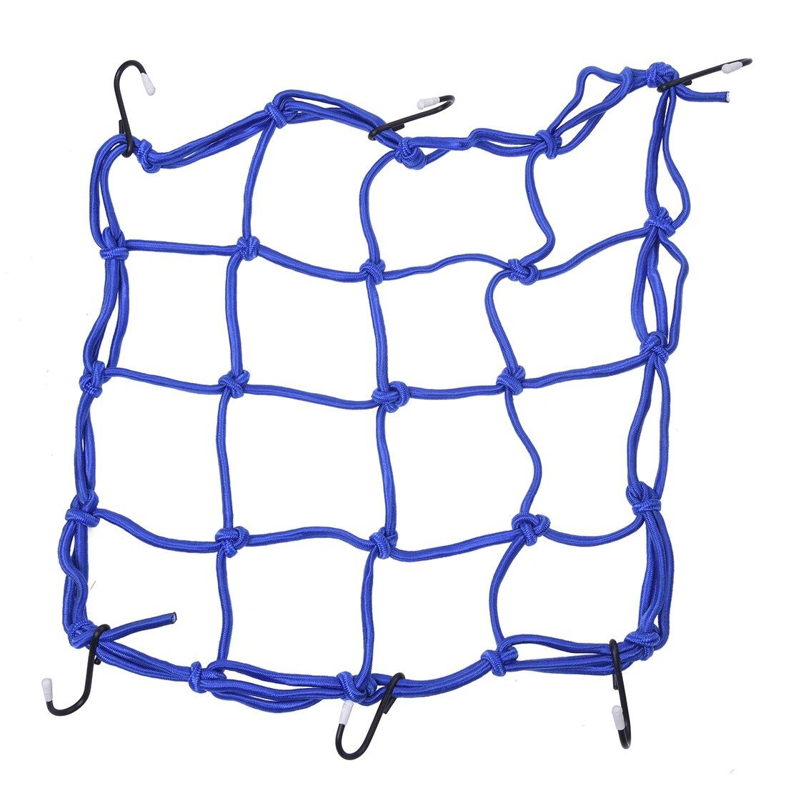Багажная сетка для мото сетки Детская безопасность чистая напряжение Механические приводы сетка синий Новый