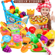 Miniature Kitchen Toys For Children Plastic Fruit Food Cut Pretend Play Home Boys Girls Game Kids Education Share Toy For Baby children s kitchen toys plastic simulation food pizza ice cream dessert fruit cutting pretend play early education toy for kids