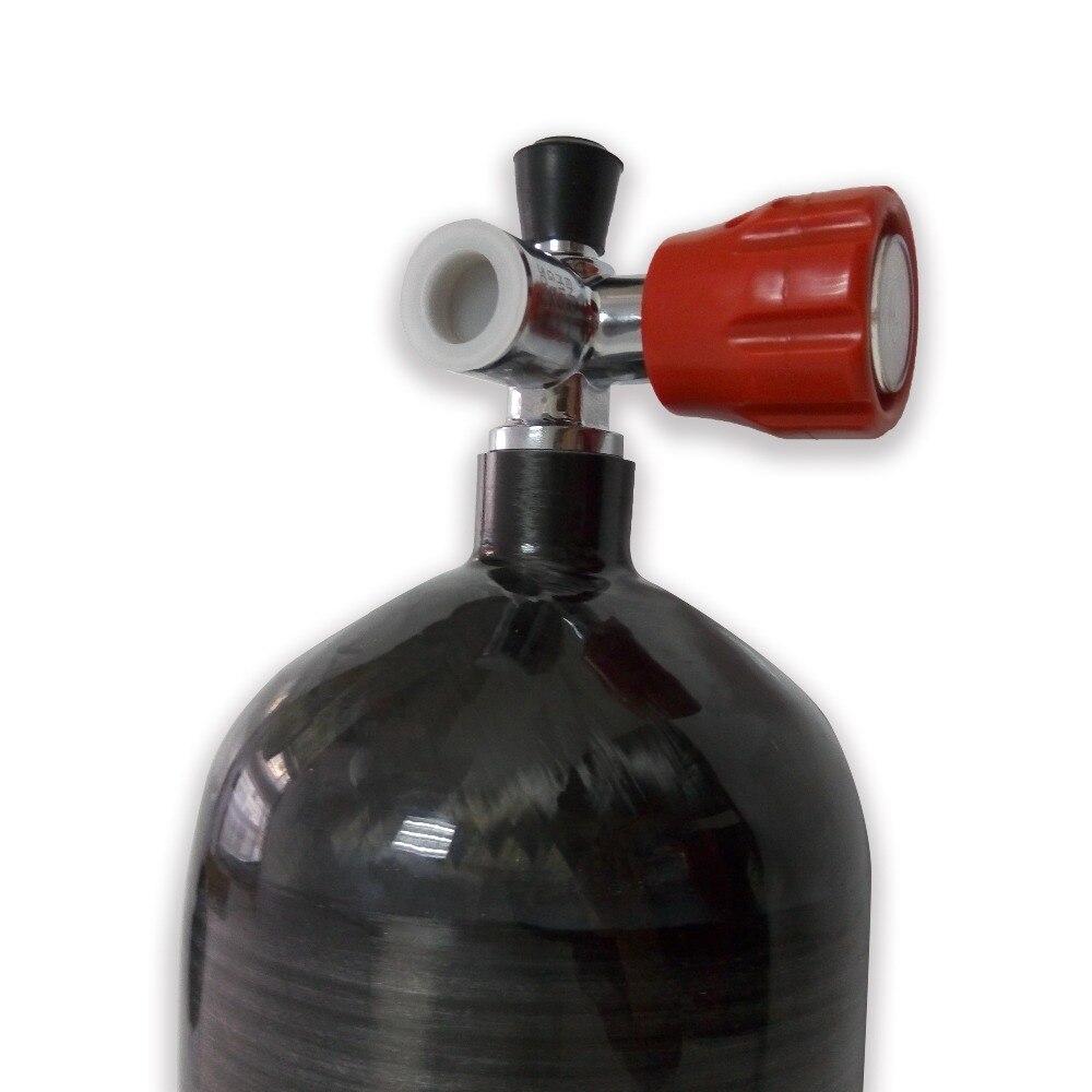 AC36811 Acecare пейнтбольное оборудование 9L газовый баллон сжатого воздуха цилиндр высокого давления 4500PSI кислородный баллон противопожарная защ