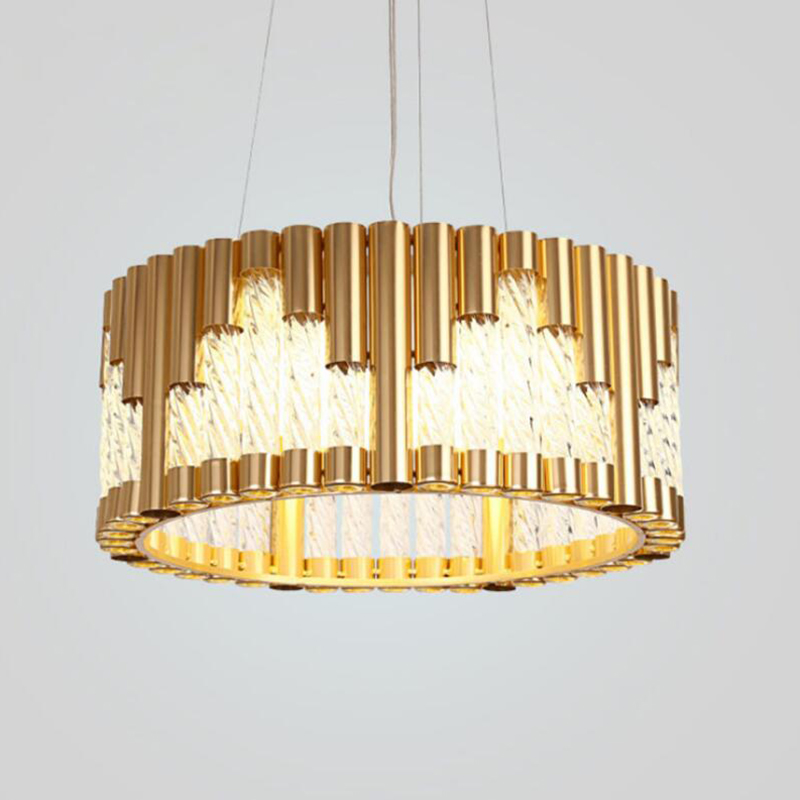 Jmmxiuz New Rectangular Pendant Lights Modern Lamp Ac110v: Jmmxiuz Modern Round Design Chandeliers LED Lamp AC110V