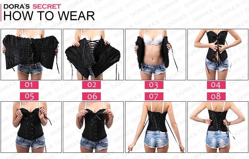 нью-доры секрет сексуальное черный цветочные талии обучение корсеты боди большой размер 5xl большой размер 6xl женское белье