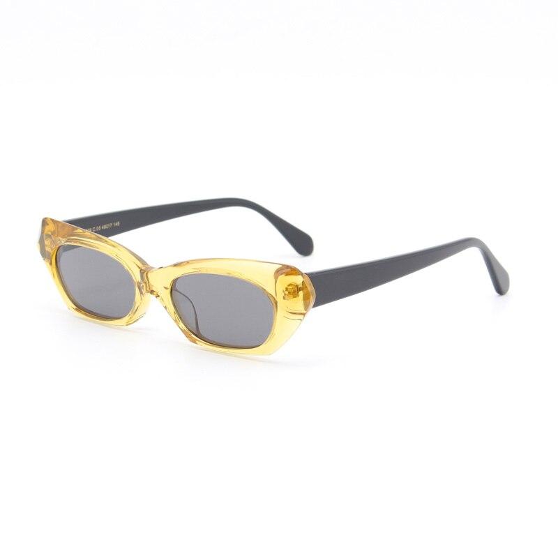 Sonnenbrillen orange blue yellow Uv400 red Sonnenbrille Acetat Mode Green chear M2839 Handmade BTx4Tq7